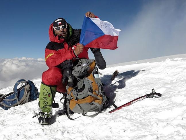 Radek Jaroš skompletizoval Korunu Himalájí