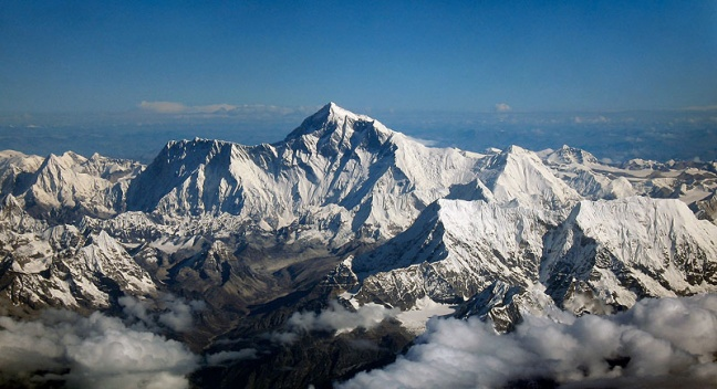 Mount Everest, zdroj: wikipedia.org